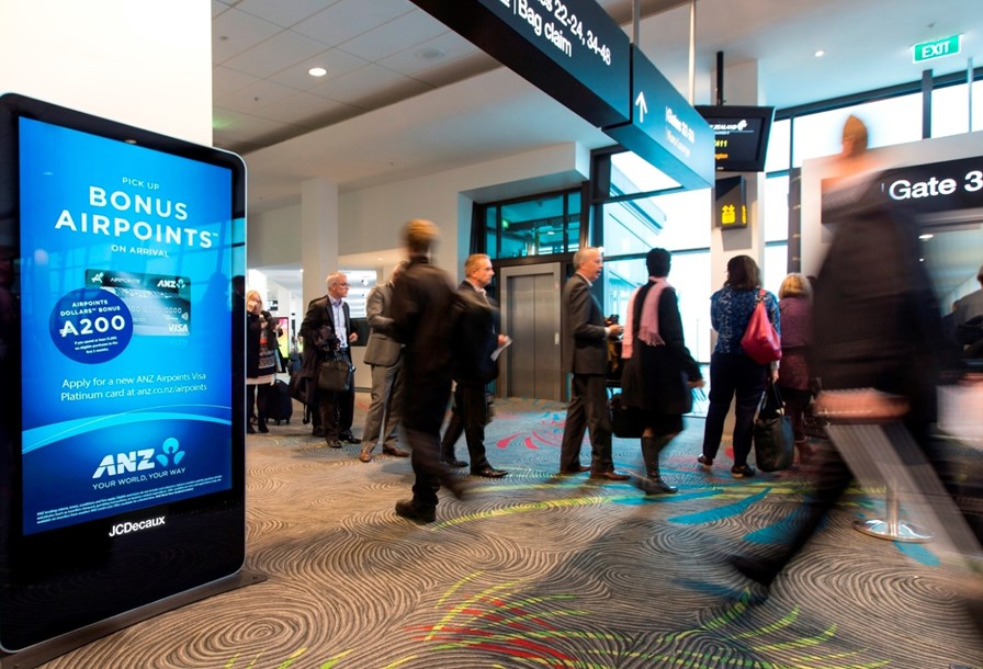 Auckland Airport | LCD Network - Domestic Arrivals & Departures