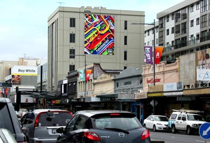 APN Outdoor secures iconic Newmarket billboard