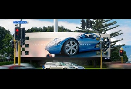 APN Outdoor to land New Zealand's largest Digital Billboard at Auckland Airport
