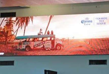 APN Outdoor continues digital overhaul at Auckland Airport with launch of two new screens