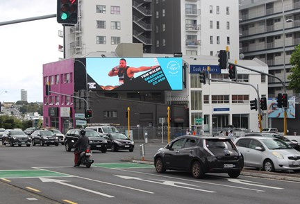 APN Outdoor brings Comm Games action to the Kiwi faithful