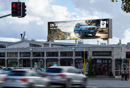 Ponsonby entertainment precinct's first digital billboard