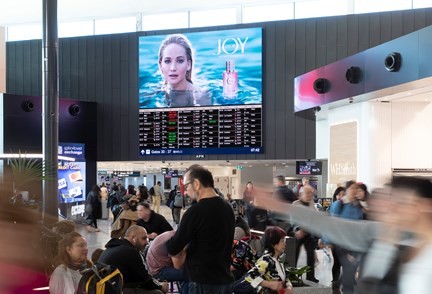 APN Outdoor Brings JOY To Sydney Airport