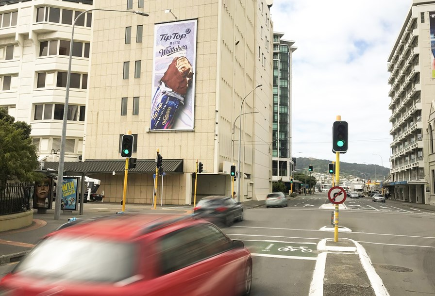 Cnr Whitmore and Featherston St Wellington