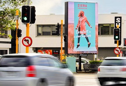 JCDecaux unveils new high impact, large format digital Portrait Network