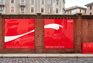 Coca-Cola thinks big to encourage recycling