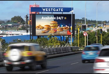 JCDecaux secures highly impactful Westgate Digital site